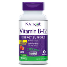 Load image into Gallery viewer, Natrol Vitamin B-12 Fast Dissolve