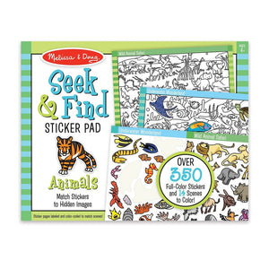 Seek & Find Sticker Pad - Animals