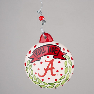 Alabama Puff Ornament