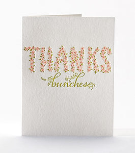 "Elum ""Thanks Bunches"" Card"