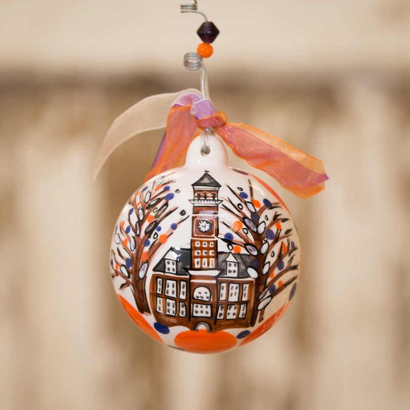 Clemson Ball Ornament