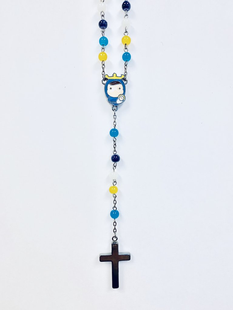Tiny Saints Rosary (Multi-Color)