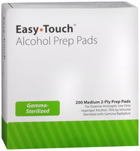Load image into Gallery viewer, Easy Touch Alcohol Prep Pads 200 Count