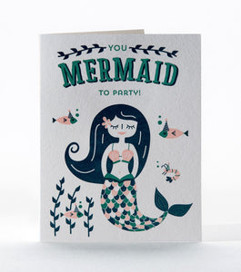 "Elum ""You Mermaid To Party!"" Card"