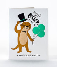 "Load image into Gallery viewer, Elum ""Otter Birthday"" Card"