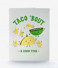"Load image into Gallery viewer, Elum ""Taco Time"" Card"