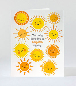 "Elum ""You Brighten My Day"" Card"