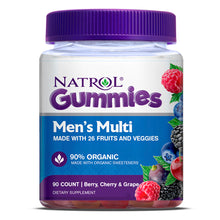 Load image into Gallery viewer, Natrol Men's Multi Gummies
