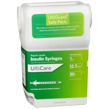 Load image into Gallery viewer, UltiCare Insulin Syringes Safe Pack