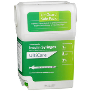 UltiCare Insulin Syringes Safe Pack