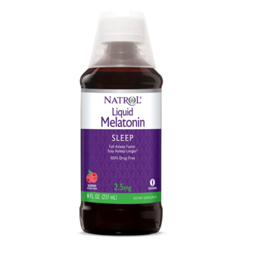 Natrol Liquid Melatonin 8oz