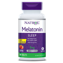 Load image into Gallery viewer, Natrol Melatonin Fast Dissolve 5mg
