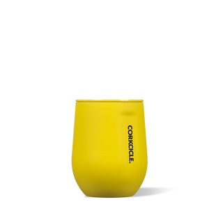 Corkcicle Stemless Neon Yellow