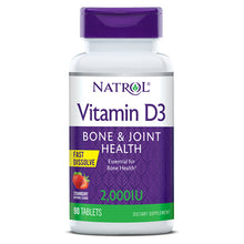 Load image into Gallery viewer, Natrol Vitamin D3 Fast Dissolve