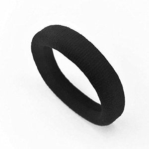 Black Thick Hair Ties 10 PCS for Thick, Heavy or Curly Hair