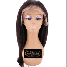 Load image into Gallery viewer, Kinky Straight Front Lace Wig