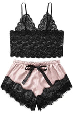 Load image into Gallery viewer, 2pc Lace Pajama set