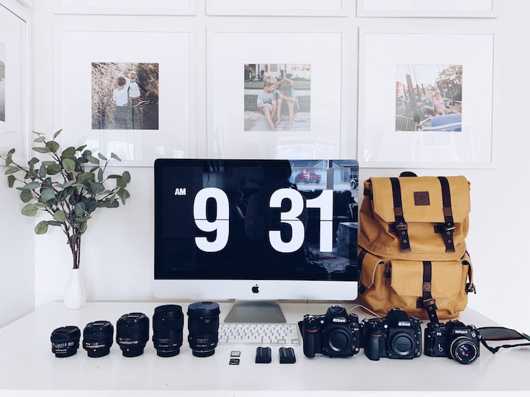 The Langly Alpha Pro Backpack as used by Californian lifestyle photographer Natalie Thomas.