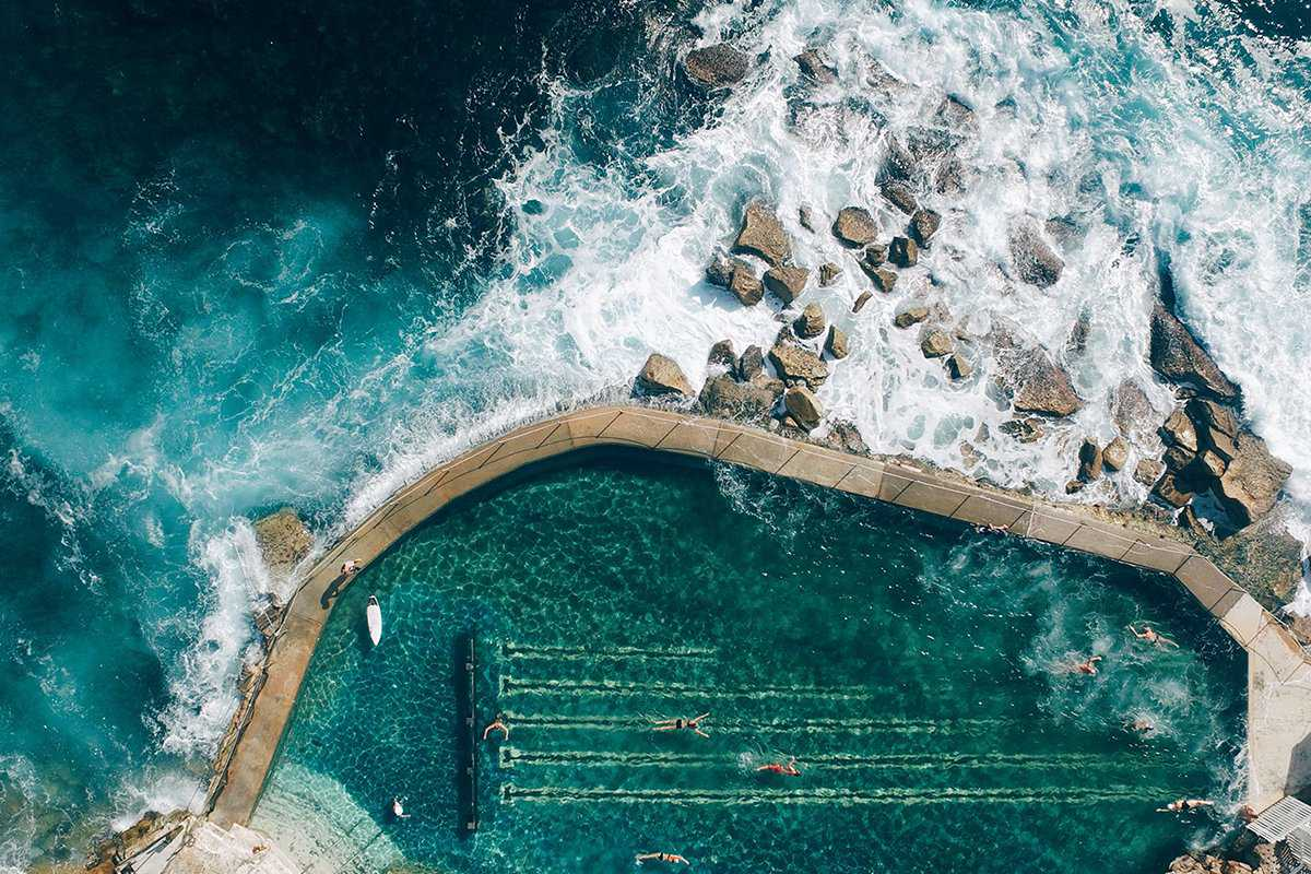 AN AERIAL VIEW DRONE PHOTOGRAPHY