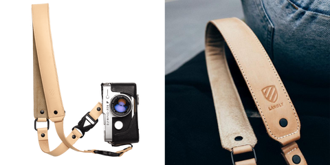 Premium Leather Strap two images
