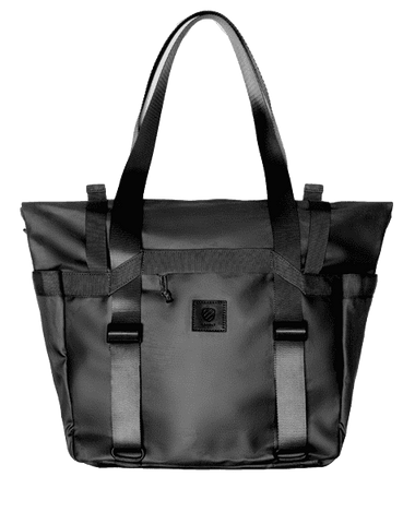 The Weekender Travel Bag by Langly Co in black.