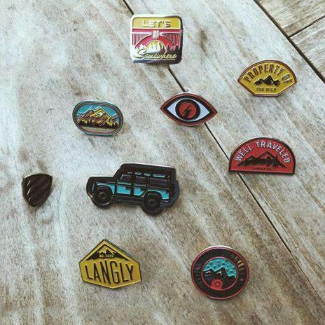 LANGLY ENAMEL PINS