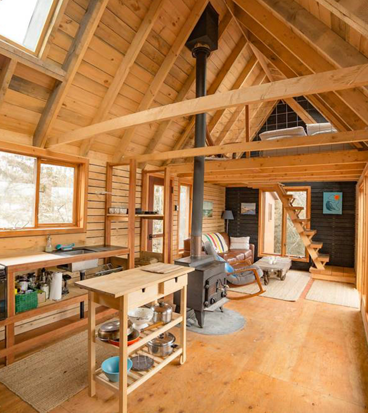 Cabin Porn Inside Great Lakes