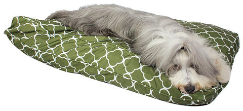Dog Bed Duvet - Dew In The Grass  (Outdoor bed)