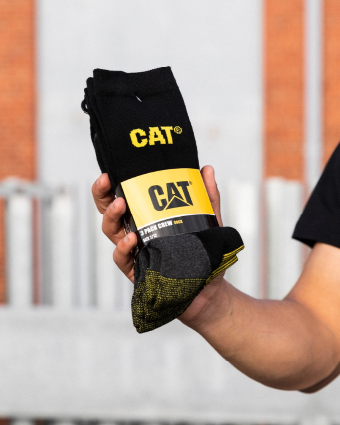 CAT 3 Pack Crew Sock