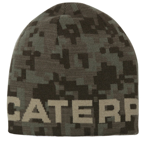 CAT Reversible Camo Hi Vis Beanie