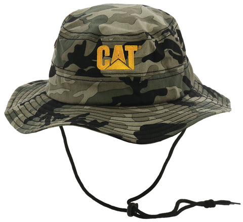 CAT Trademark Safari Cap