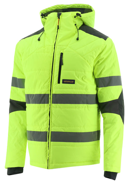 CAT HiVis Boreaus Insulated Puffer Jacket