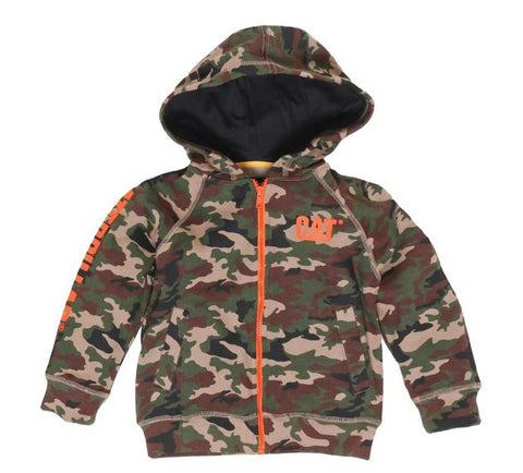 Kids Trademark Camo Full Zip Jumper
