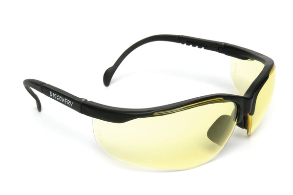 MSA Discovery Amber Safety Glasses