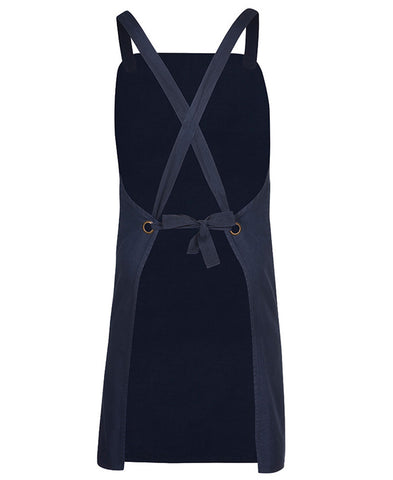 JB's Cross Over Back Canvas Bib Apron Without Strap