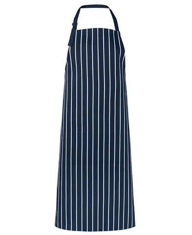 JB's Bib Striped Apron with NO Pocket
