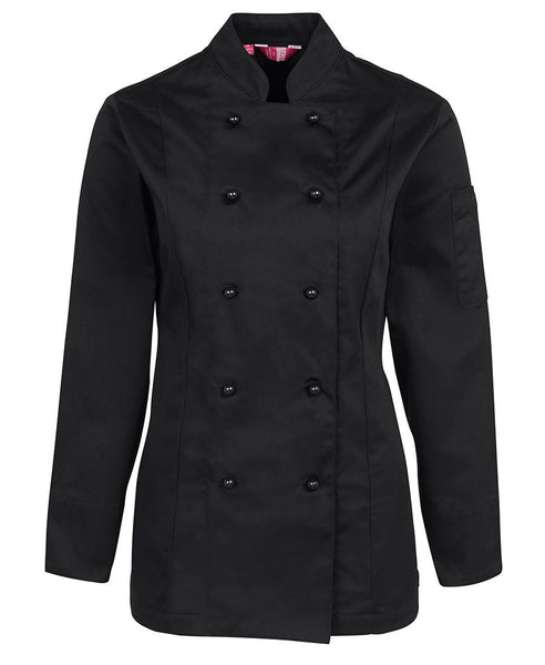 JB's Ladies Long Sleeve Chef Jacket
