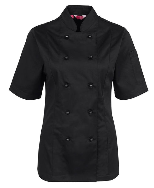 JB's Ladies Short Sleeve Chef Jacket