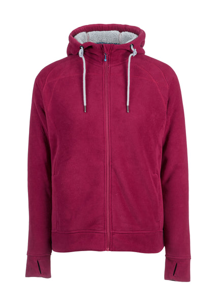 Rainbird Ain Fleece Hoodie with Plush Fleece Liner
