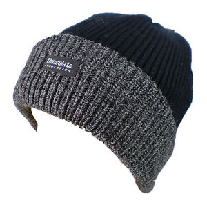7e6b47c7964 Avenel Rib Knit Thinsulate Beanie with Contrast ...