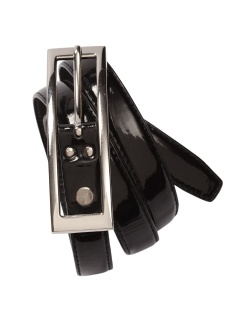 Ladies Black Contemporary Belt