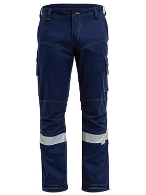 Bisley Mens 3M Taped Ripstop Engineered Cargo Pant