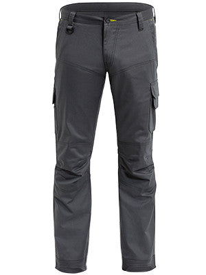 Bisley X Airflow Ripstop Engineered Kharki & Charcoal Cargo Work Pant