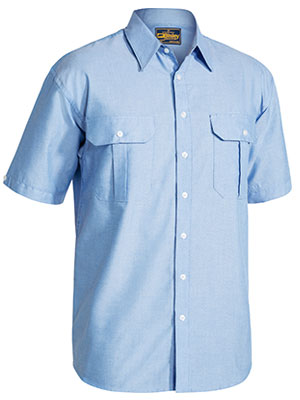 Bisley Oxford Short Sleeve Shirt