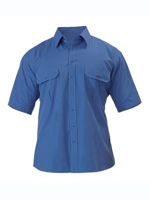 Bisley Mens Metro Short Sleeve Shirt