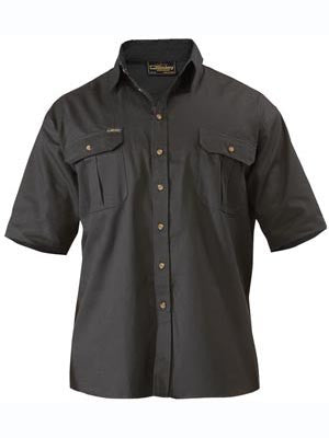 Bisley Original Cotton Drill Short Sleeve Shirt