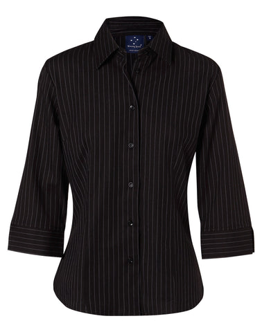 Winning Spirit Herringbone Pin Stripe Shirt