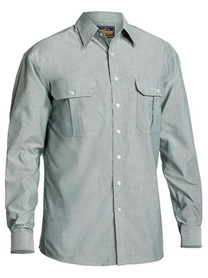 Bisley Oxford Long Sleeve Shirt
