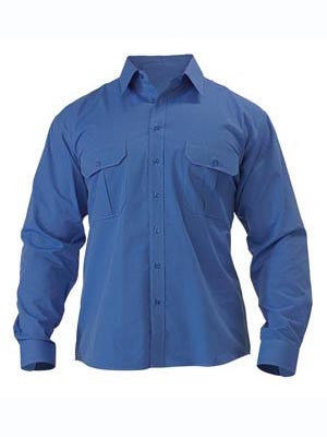 Bisley Mens Metro Long Sleeve Shirt