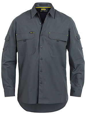 Bisley Mens X Airflow Ripstop Long Sleeve Shirt